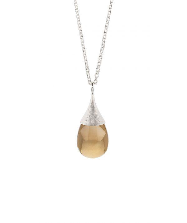 globe chestnut pendant